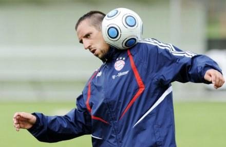 Franck Ribery pojechał na kadrę Francji /AFP