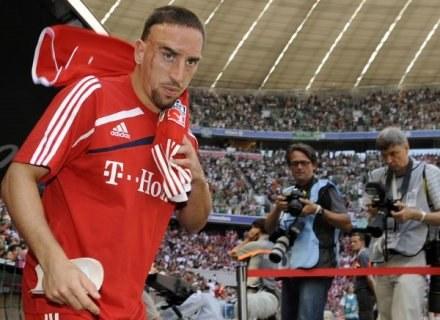 Franck Ribery potwierdza: Bayern będzie moim klubem w tym sezonie /AFP