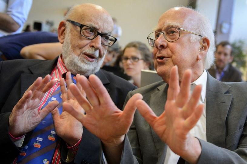 Francois Englert i Peter W. Higgs laureatami Nagrody Nobla z fizyki /AFP