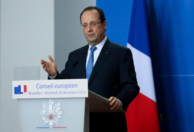 Francois Hollande /OLIVIER HOSLET /PAP/EPA