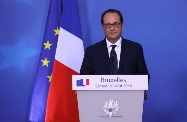Francois Hollande /PAP/EPA/JULIEN WARNAND /PAP/EPA