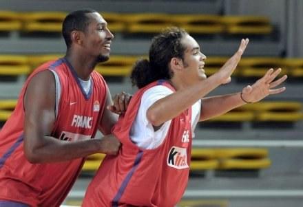 Francuscy koszykarze wygrali w Cagliari /AFP