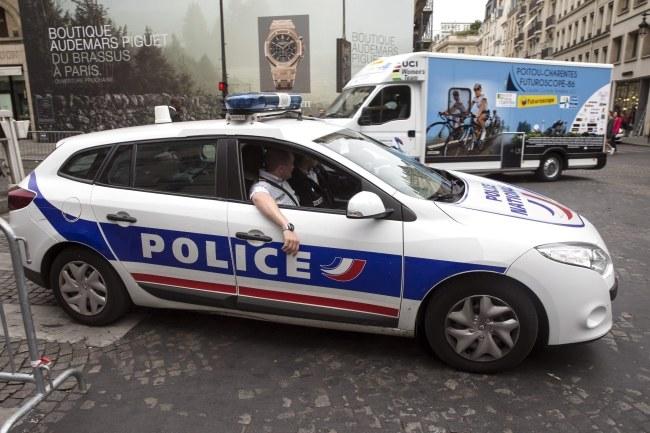 Francuska policja /PAP/EPA