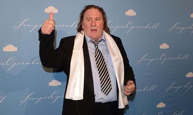 Francuski aktor Gerard Depardieu /AFP