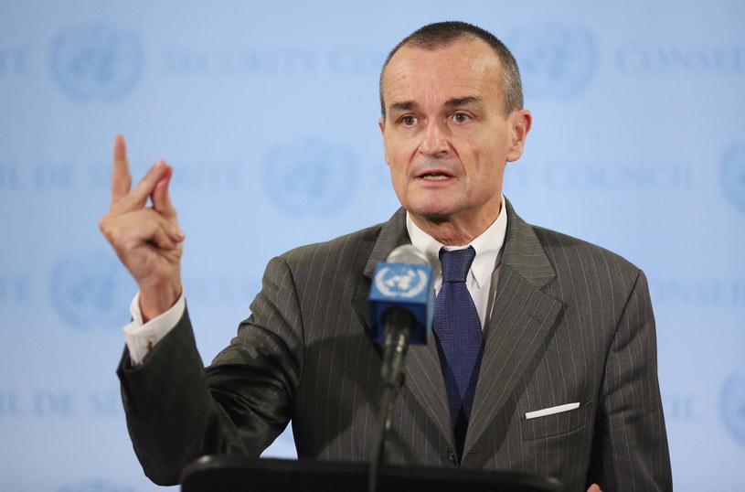 Francuski ambasador przy ONZ Gerard Araud /AFP