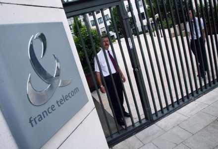 Francuski Telecom znalazł się na 3. miejscu /AFP