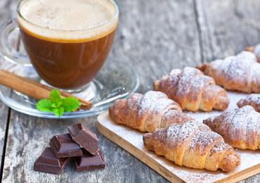 Francuskie rogaliki z czekoladą