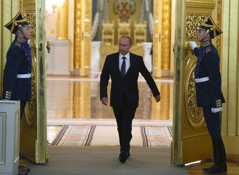 Francuskie służby specjalne badają związki francuskiego biznesmena Philippe'a de Villiers z Władimirem Putinem /AFP