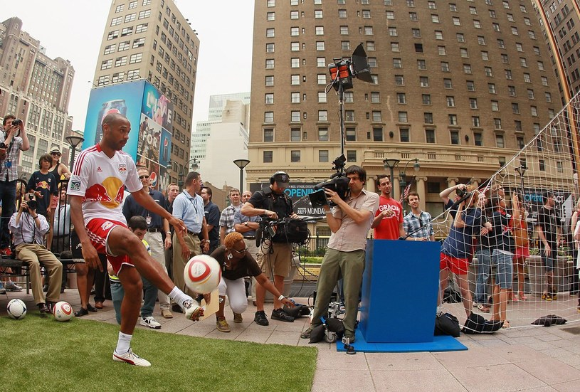 Francuz Thierry Henry /AFP