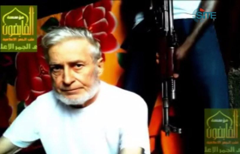 Francuz więziony od roku przez islamistów jest już na wolności /AFP