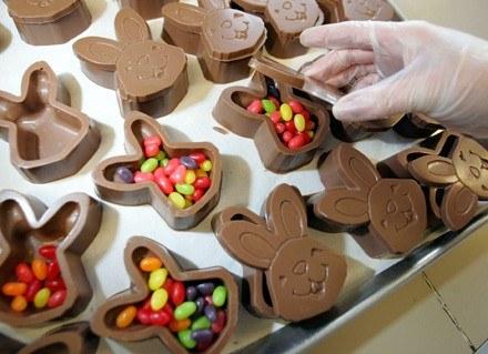 Francuzi przepadają za wielkanocnymi słodkościami /AFP