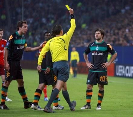 Frank De Bleeckere i kontrowersyjna kartka dla Diego /AFP