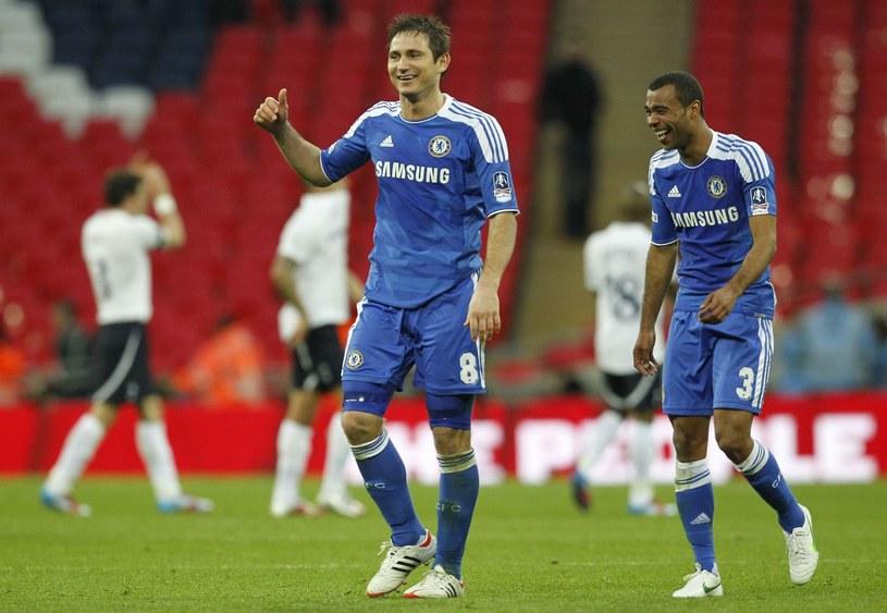 Frank Lampard i Ashley Cole /AFP