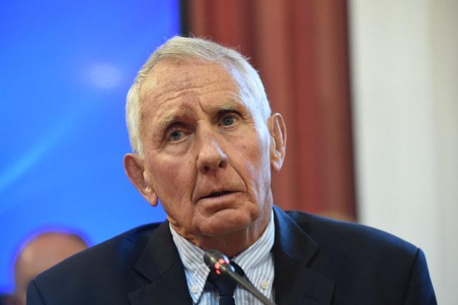 Frank Taylor doradca podkomisji powołanej w MON /Radek Pietruszka /PAP