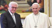 Frank-Walter Steinmeier na audiencji u papieża Franciszka
