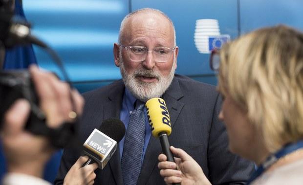Frans Timmermans przyjedzie do Polski. 18 czerwca spotka się z Morawieckim