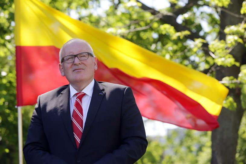 Frans Timmermans /Leszek Szymański /PAP