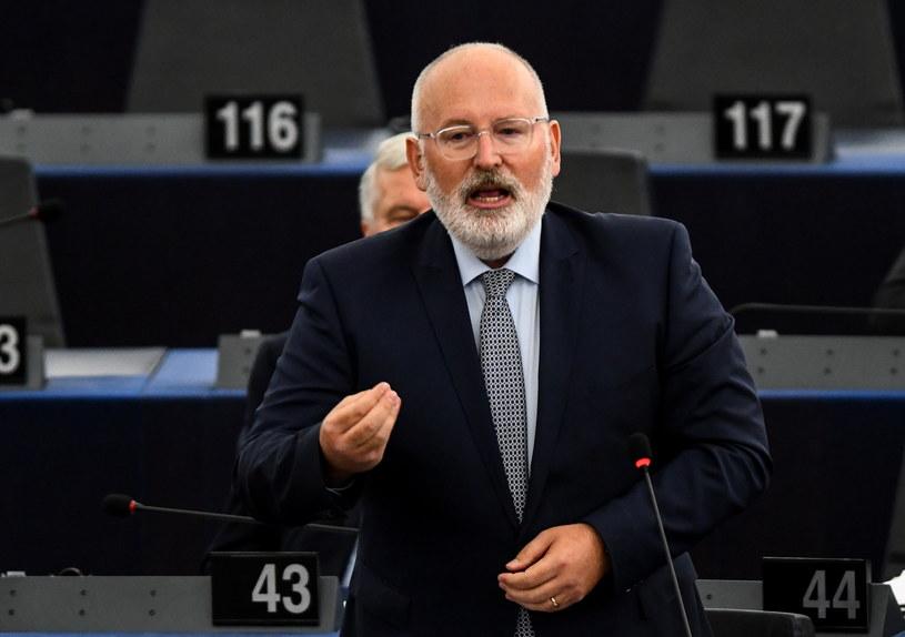 Frans Timmermans /PAP/EPA