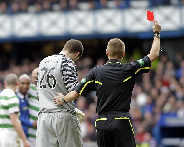 Fraser Forster, rywal Łukasza Załuski w Celticu Glasgow /AFP