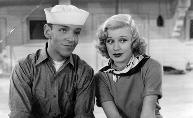 Fred Astaire ze swoją długoletnią sceniczną partnerką Ginger Rogers /Getty Images