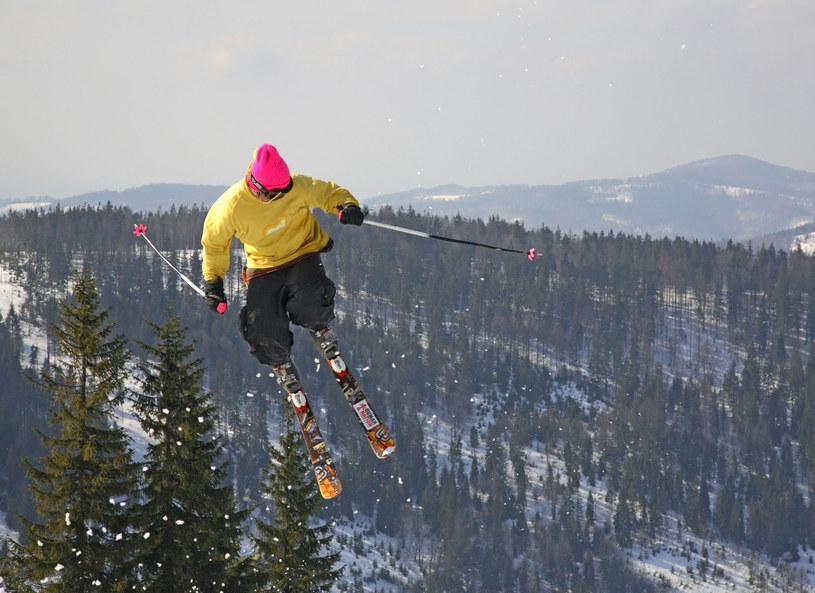 Freestyle na nartach. Szczyrk. /123RF/PICSEL