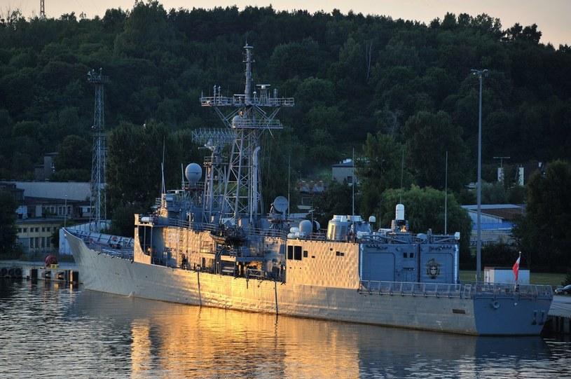 Fregata rakietowa ORP Generał Tadeusz Kościuszko /REPORTER /Reporter
