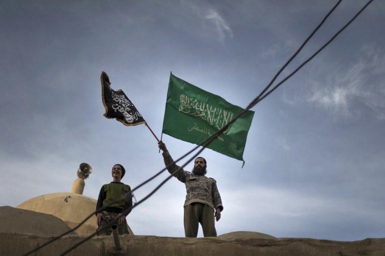 Front al-Nusra przyrzeka wierność głównemu szefowi Al-Kaidy /AFP
