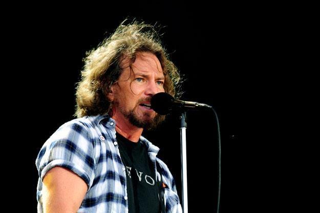 Frontman Pearl Jam - Eddie Vedder (fot. Gareth Cattermole) /Getty Images/Flash Press Media