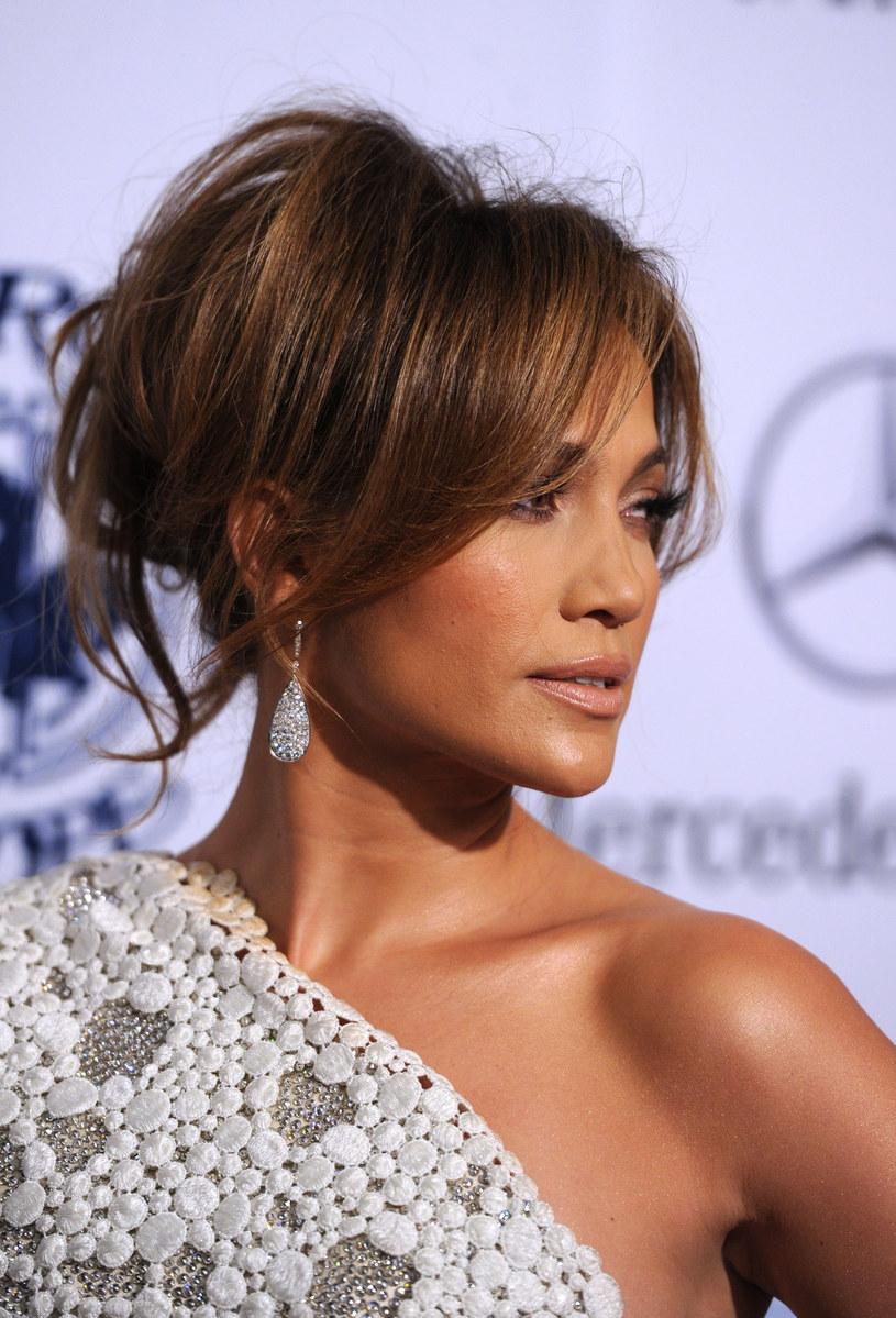 Fryzura Jennifer Lopez  /Getty Images/Flash Press Media