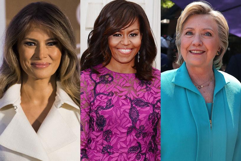 Fryzury i suknie first lady zajmują wyborców nie mniej niż polityka jej męża /Getty Images