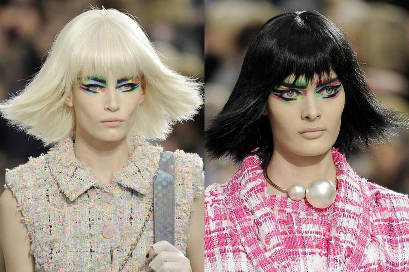Fryzury na pokazie Chanel /East News/ Zeppelin