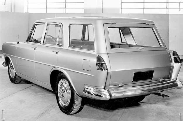 FSO Warszawa Ghia: prototyp wersji kombi, 1959 rok /