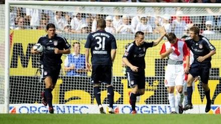 FSV Mainz pokonał Bayern Monachium 2:1. /AFP