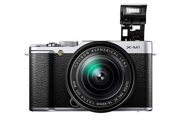 Fujifilm X-M1 /materiały prasowe