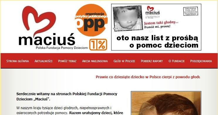 """Fundacja """"Maciuś"""" działa od 2006 roku /"""