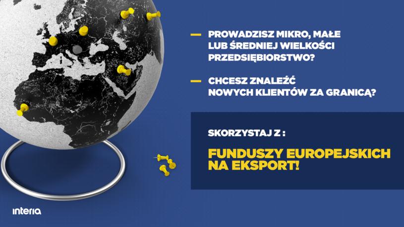 Fundusze Europejskie /INTERIA