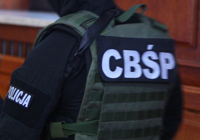 Funkcjonariusz CBŚP (arch.) /Stanisław Kowalczuk /East News