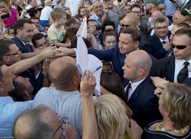 Funkcjonariusze Biura Ochrony Rządu chronią najważniejsze osoby w państwie/ Zdjęcie ilustracyjne /Piotr Tracz /East News