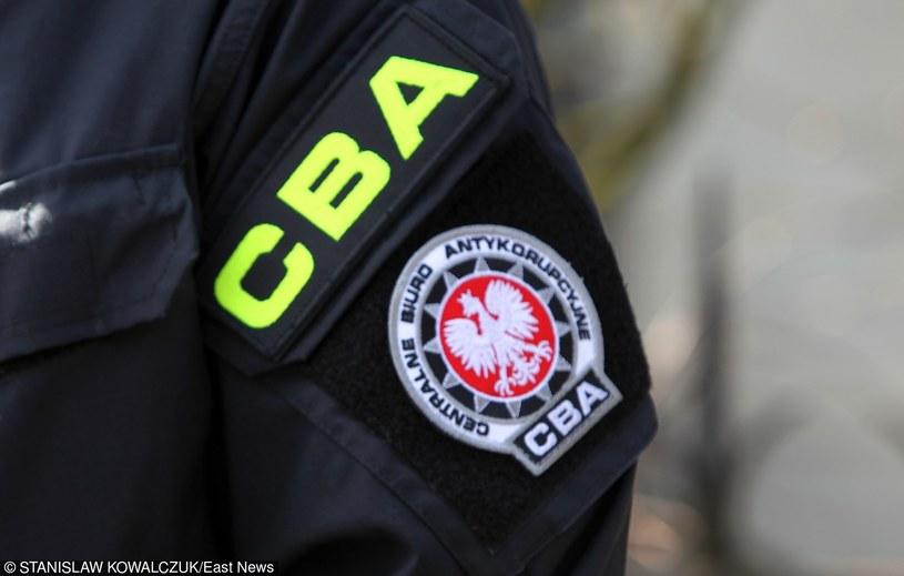 Funkcjonariusze CBA przeszukują siedziby /Agencja SE/East News