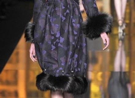 Futrzane wykończenia Diora /East News/ Zeppelin
