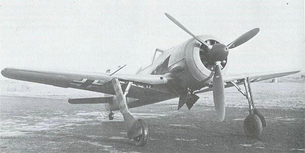 FW 190 napędzany silnikiem BMW to jeden najlepszych myśliwców wojny /