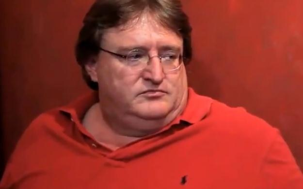 Gabe Newell - zdjęcie /Informacja prasowa