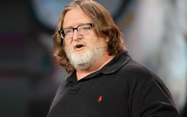 Gabe Newell /AFP