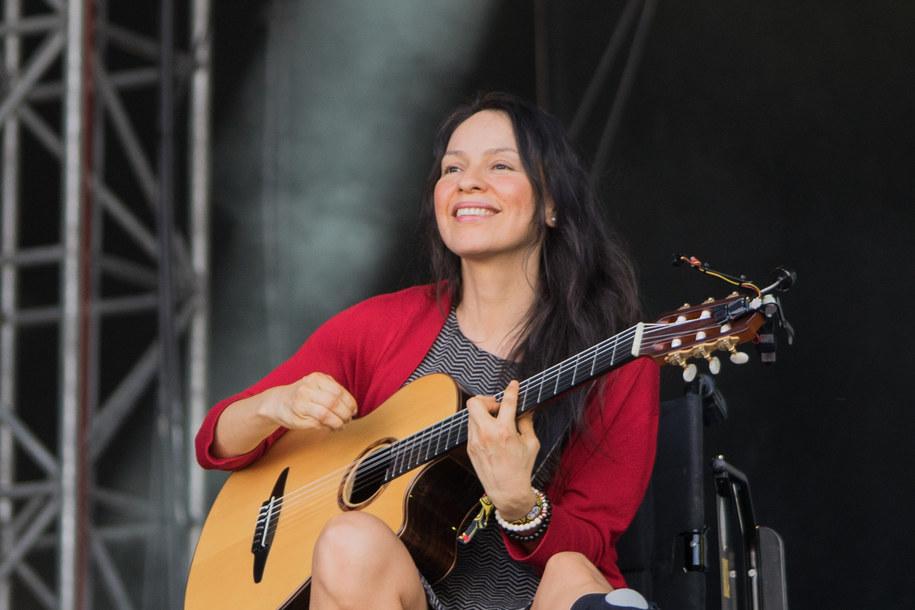 Gabriela podczas swojego koncertu /Koscikova N /