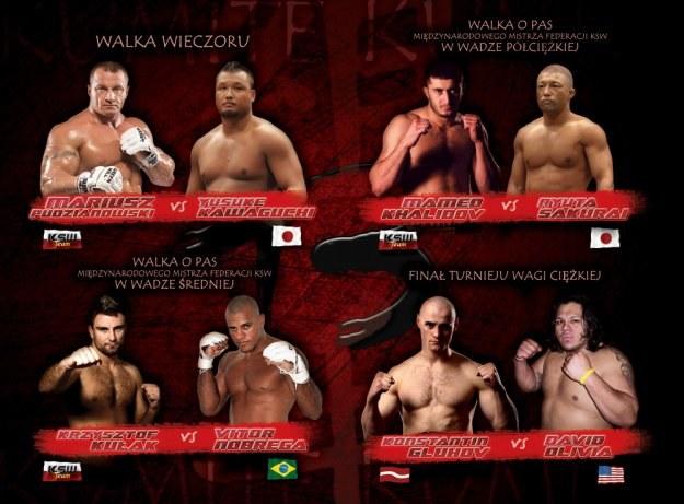 Gala KSW 13 odbędzie się już w najbliższy piątek w katowickim Spodku /Informacja prasowa