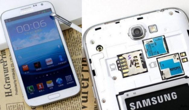 Galaxy Note 2 z dwoma kartami SIM? Stworzony z myślą o chińskim rynku /tabletowo.pl