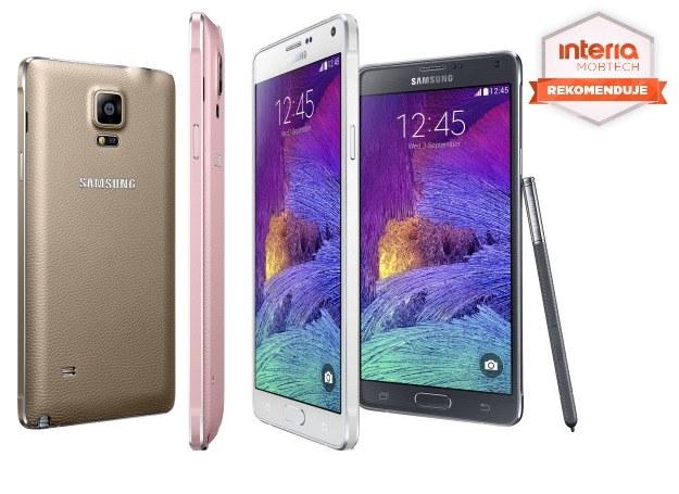 Galaxy Note 4 otrzymuje rekomendację serwisu Mobtech.interia.pl /materiały prasowe