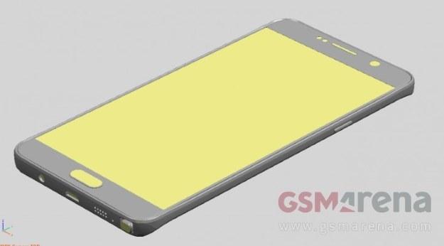 Galaxy Note 5.   Fot. GSMArena /materiały prasowe