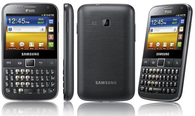 Galaxy Pro DUOZ to kolejny Samsung z obsługą dwóch kart SIM /INTERIA.PL/informacje prasowe