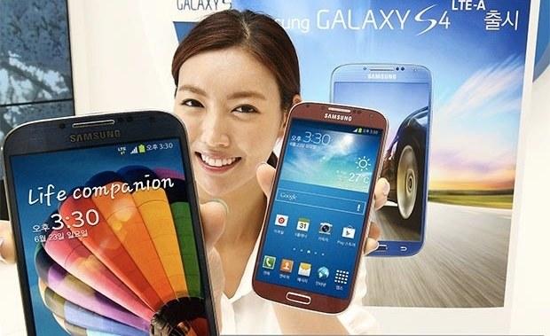 Galaxy S4 LTE-A - jeden ze smartfonów korzystających z technologii LTE-Advanced /materiały prasowe